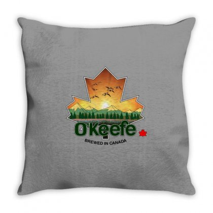 O'keefe Brewery Throw Pillow Designed By Blackheart
