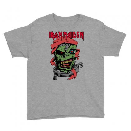 Iron Maiden Youth Tee Designed By Bluebubble