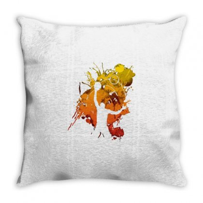 Reach The Stars Throw Pillow Designed By Milaart