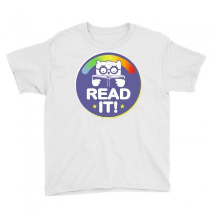 Read It! Youth Tee Designed By Milaart