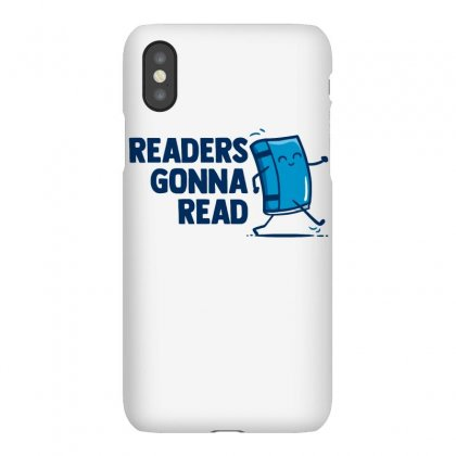 Readers Gonna Read Iphonex Case Designed By Milaart