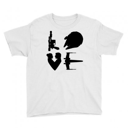 Rebellious Love Youth Tee Designed By Milaart