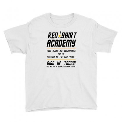 Red Shirt Academy Youth Tee Designed By Milaart