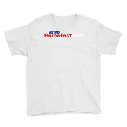 Retro Gamefest Youth Tee Designed By Milaart