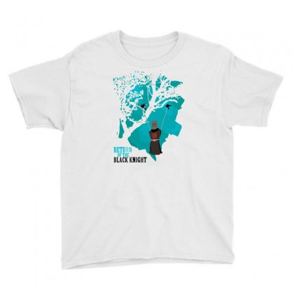 Return Of The Black Knight Youth Tee Designed By Milaart
