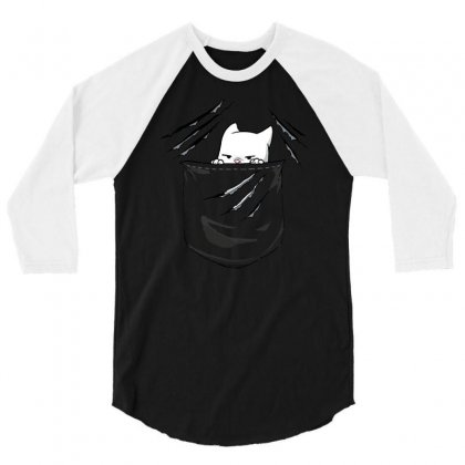 Rip 3/4 Sleeve Shirt Designed By Milaart