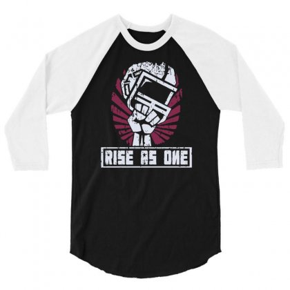 Rise As One 3/4 Sleeve Shirt Designed By Milaart