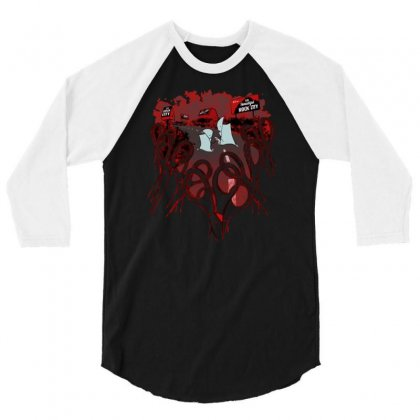 Road Trip To Rock City 3/4 Sleeve Shirt Designed By Milaart
