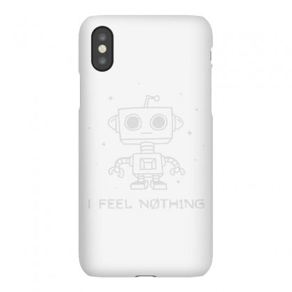 Robot Apathy Iphonex Case Designed By Milaart