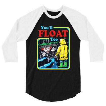 You'll Float Too 3/4 Sleeve Shirt Designed By Rodgergise