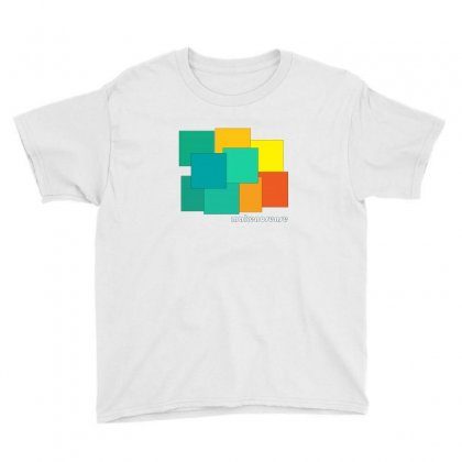 Box Color Youth Tee Designed By Cuser2350