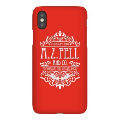 A Z Fell Book Shop Iphonex Case Designed By Andisoraya