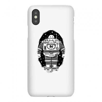 Robot From The Other Side Iphonex Case Designed By Milaart