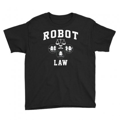 Robot Law School Youth Tee Designed By Milaart