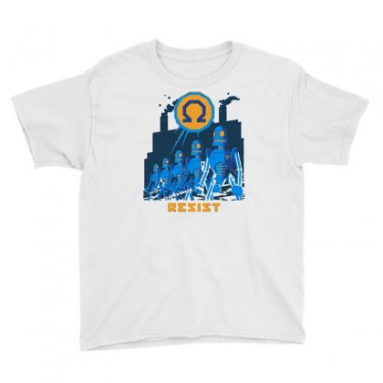 Robot Resistance Youth Tee Designed By Milaart