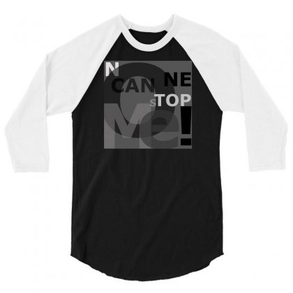 No One Can Stop Me 3/4 Sleeve Shirt Designed By Matangi Chawda