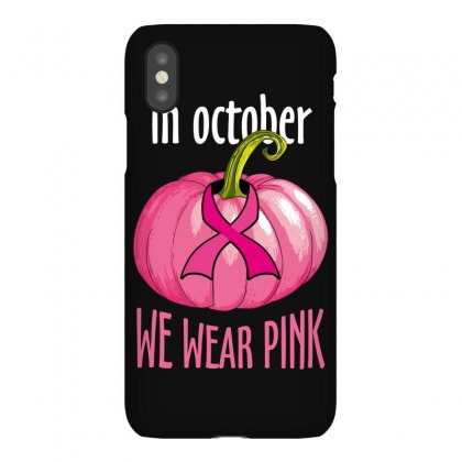 In October We Wear Pink Iphonex Case Designed By Wizarts