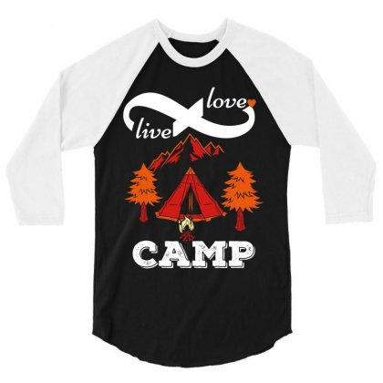 Love Live Camp 3/4 Sleeve Shirt Designed By Wizarts