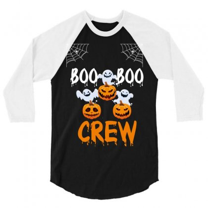 Boo Boo Crew 3/4 Sleeve Shirt Designed By Wizarts