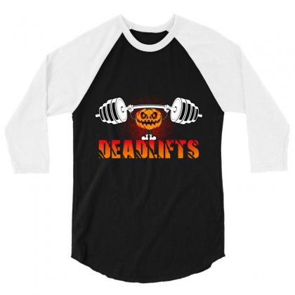 Deadlifts 3/4 Sleeve Shirt Designed By Wizarts