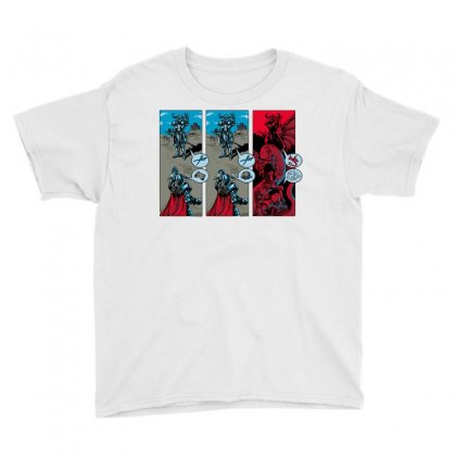 Rock, Paper, Dragon Youth Tee Designed By Milaart