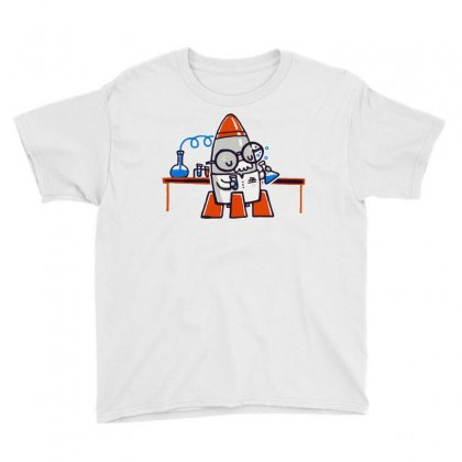 Rocket Scientist Youth Tee Designed By Milaart