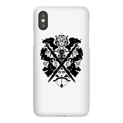 Roleplaying Rorschach Iphonex Case Designed By Milaart