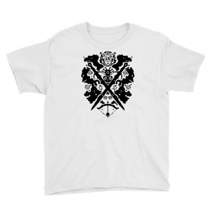 Roleplaying Rorschach Youth Tee Designed By Milaart