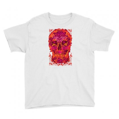 Roses! Roses! Youth Tee Designed By Milaart