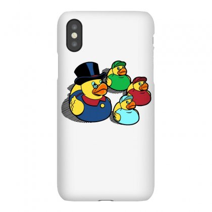 Rubber Ducky Tales Iphonex Case Designed By Milaart