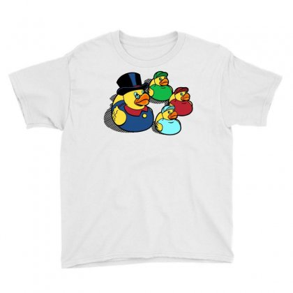 Rubber Ducky Tales Youth Tee Designed By Milaart