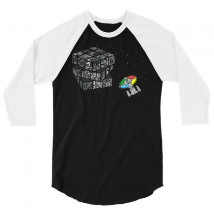 Ruborg's Cube 3/4 Sleeve Shirt Designed By Milaart