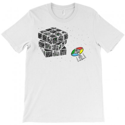 Ruborg's Cube T-shirt Designed By Milaart