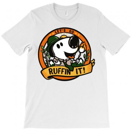Ruffin' It T-shirt Designed By Milaart