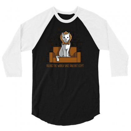 Ruling The World 3/4 Sleeve Shirt Designed By Milaart