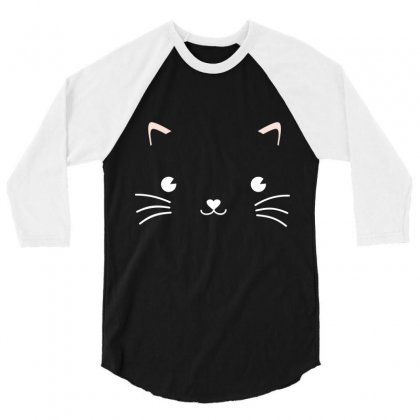 Cat 2 3/4 Sleeve Shirt Designed By Wizarts