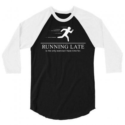 Running Late 3/4 Sleeve Shirt Designed By Milaart