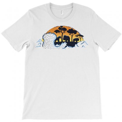 S Is For Safari T-shirt Designed By Milaart