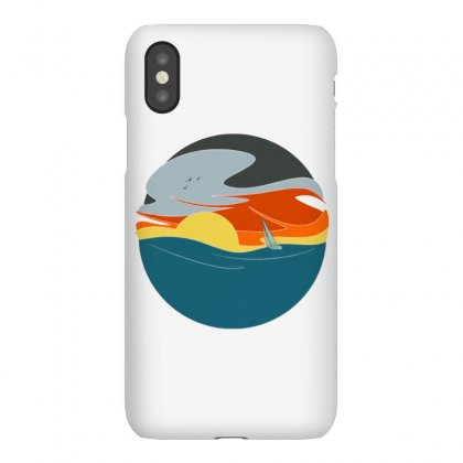 Sailing To The Sunset Iphonex Case Designed By Milaart