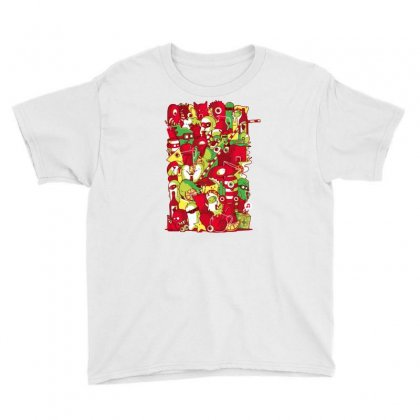 Sangria Summer Youth Tee Designed By Milaart