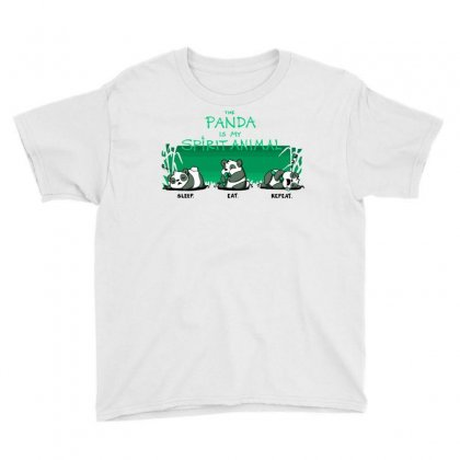 The Panda Is My Spirit Animal Youth Tee Designed By Milaart