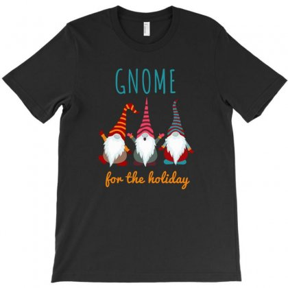 Gnome For The Holiday Colorful T-shirt Designed By Hasret