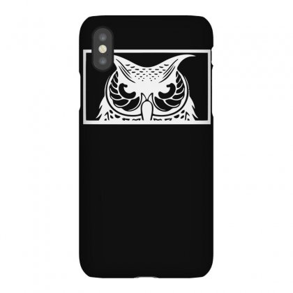Spirit Owl Funny Iphonex Case Designed By Erryshop
