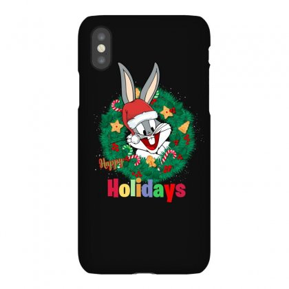 Happy Holidays Iphonex Case Designed By Hasret