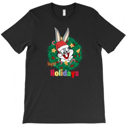 Happy Holidays T-shirt Designed By Hasret