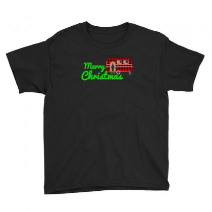 Merry Christmas Caravan For Dark Youth Tee Designed By Hasret