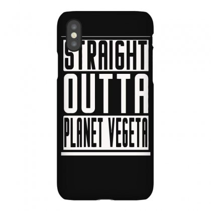 Straight Outta Planet Vegeta Iphonex Case Designed By Erryshop