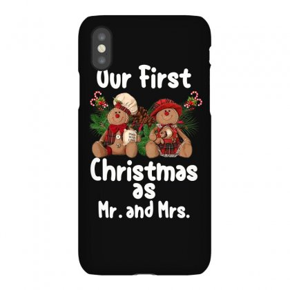 Our First Christmas As Mr. And Mrs For Dark Iphonex Case Designed By Sengul