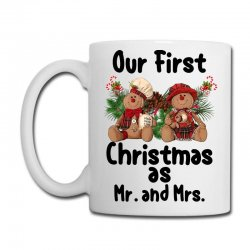 Our First Christmas As Mr. And Mrs For Light Coffee Mug Designed By Sengul