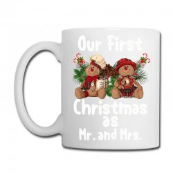 Our First Christmas As Mr. And Mrs For Dark Coffee Mug Designed By Sengul